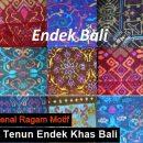 Ragam Motif tenun Endek Bali